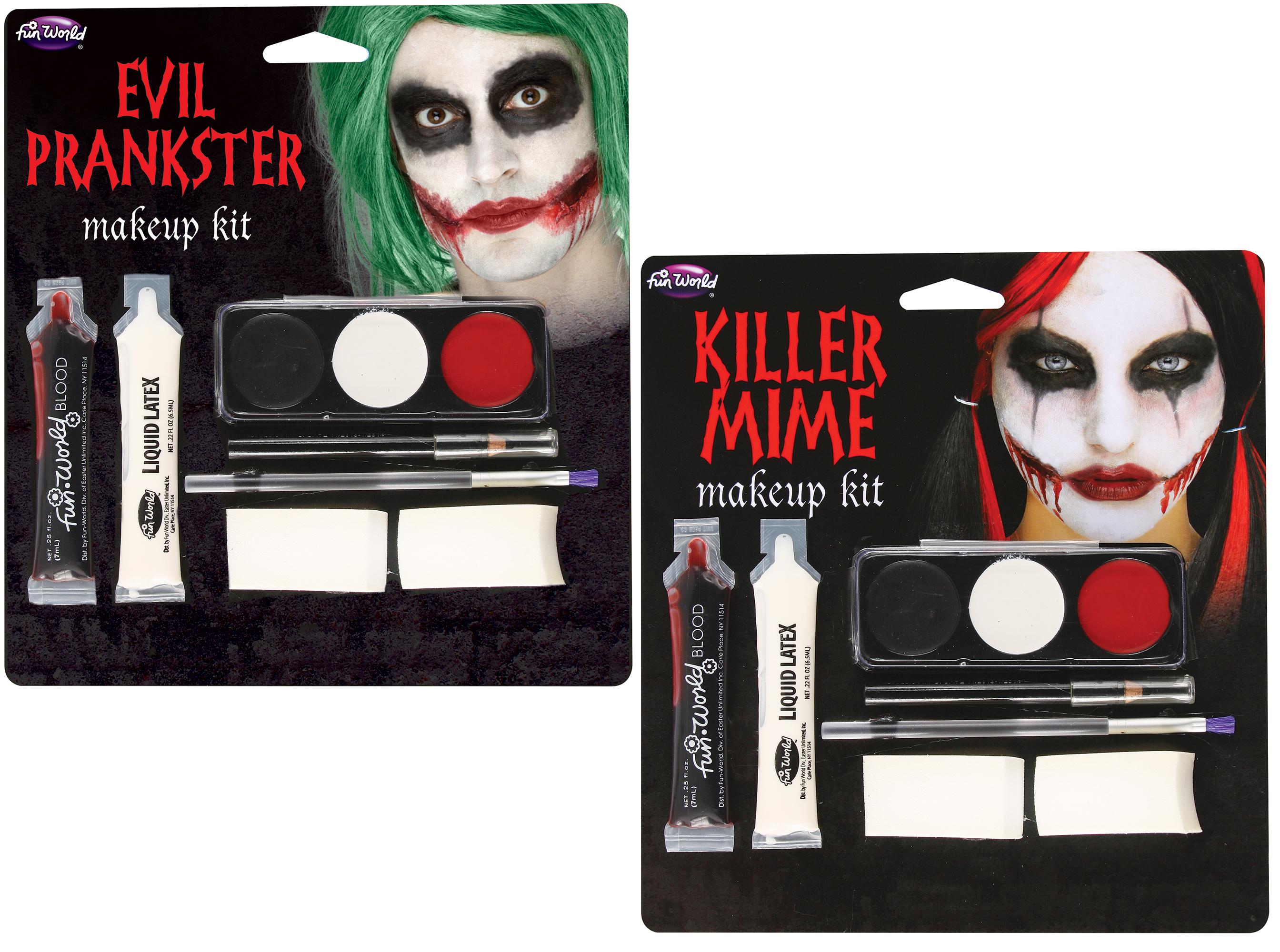 Mime Makeup Kit Assortment
