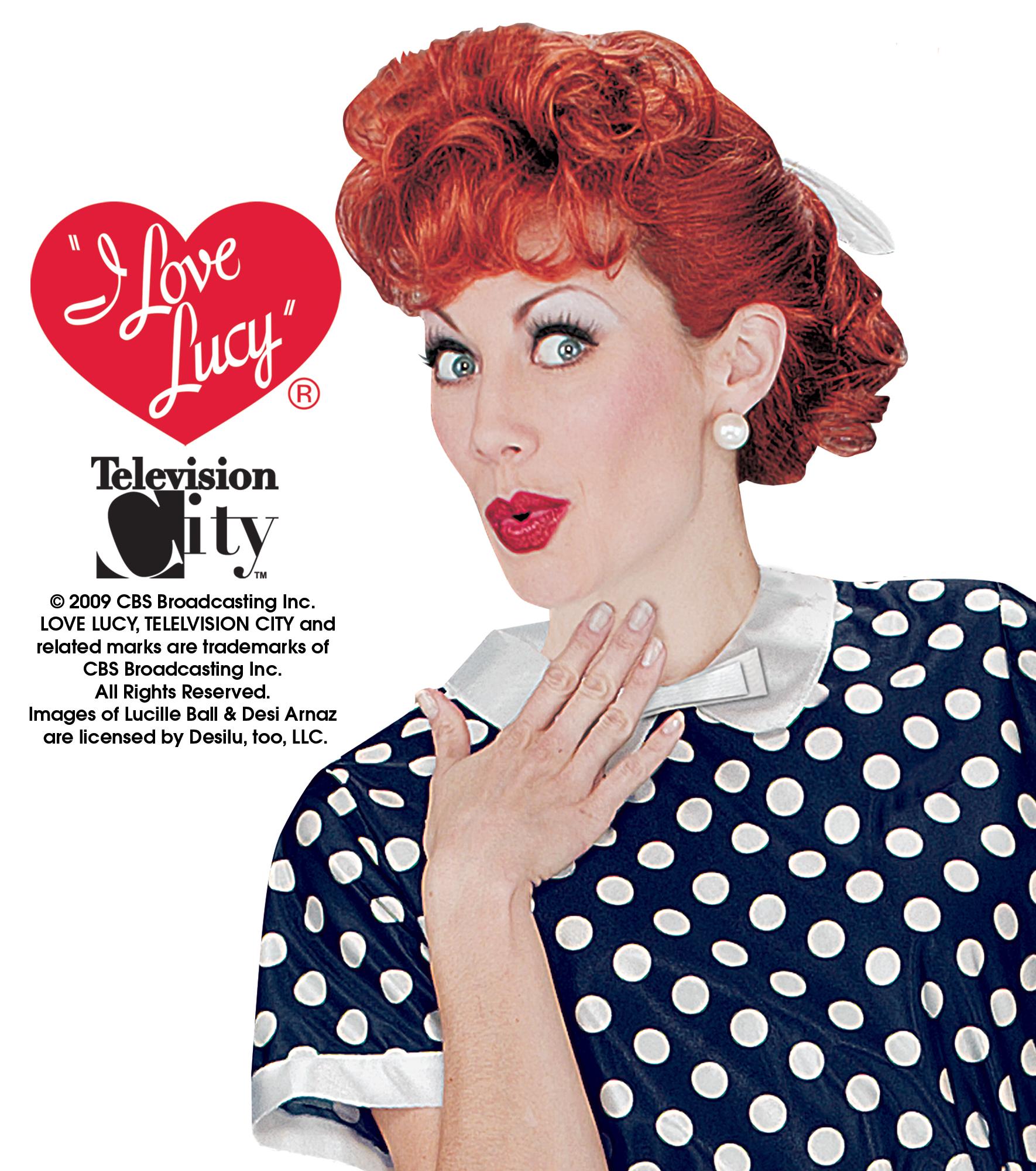 I Love Lucy Show Lucille Ball CARTOON LOVE Licensed Adult Sweatshirt Hoodie