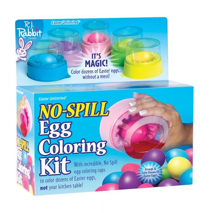 No Spill Egg Coloring Kit