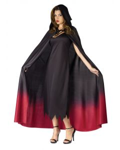 Ombré Hooded Cape