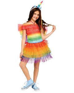 Ruffle Rainbow Unicorn