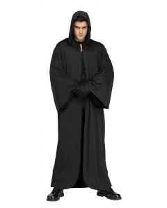 Hooded Robe - Black