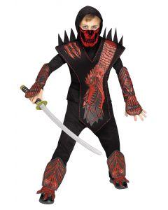 Red Skull Dragon Ninja