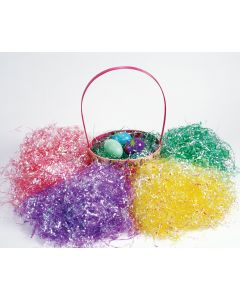 1.5 oz. Iridescent Easter Grass Assortment Floor Display