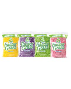 1.5 Oz. Super Fine 100% Recycled Paper Easter Grass