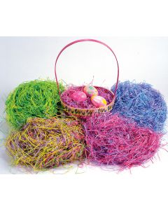 Super Fine Spring Mix Paper Easter Grass 1.5 Oz.