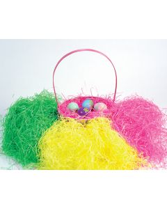 2 Oz. Super Bright Easter Grass Assortment Floor Display
