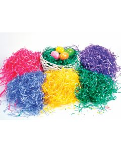 2 Oz. Satin Ribbon Decorative Easter Grass Floor Display