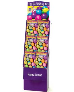 Speckled Egg Coloring Kit Floor Display