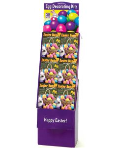 Easter Bunny Egg Coloring Kit Floor Display