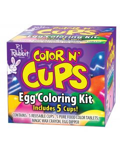 Color N' Cups Egg Coloring Kit