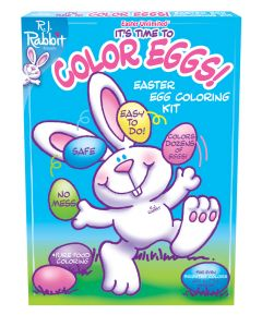 It's Time To Color Eggs!