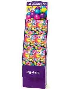 Tie Dye Egg Deco Kit Floor Display