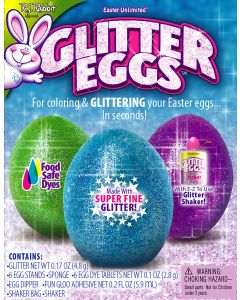 Glitter Eggs Deco Kit