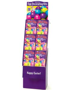 Glitter Eggs Deco Kit Floor Display