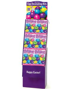 Pearlescent Easter Eggs Floor Display