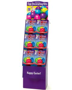 Candy Apple Eggs Floor Display
