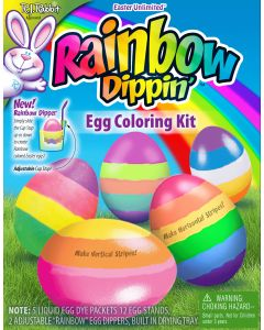 Rainbow Dippin' Egg Coloring Kit