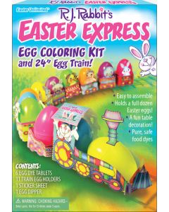 Easter Express Egg Coloring Kit and Egg Train