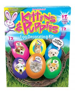 Kittens & Puppies Egg Decorating Kit