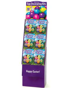 Bunnies & Chick Egg Decorating Kit Floor Display