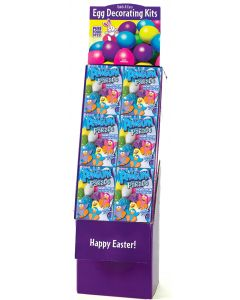 Penguin Parade Egg Decorating Kit Floor Display
