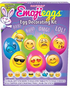 EmojiEggs Egg Decorating Kit Floor Display