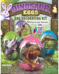 Dinosaur Egg Decorating Kit