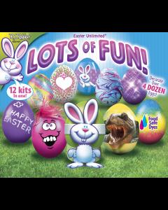 Lots Of Fun! – 12 Kits in 1 - Egg Deco Kit