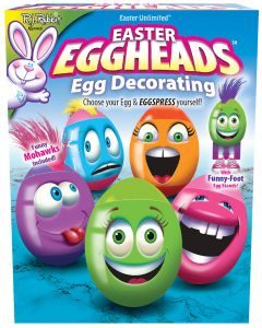 Easter Eggheads Floor Display