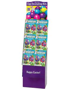 Springtime Egg Decorating Kit Floor Display