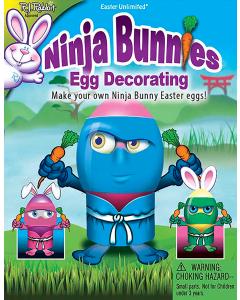 Ninja Bunnies Egg Decorating Kit