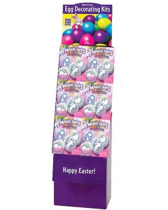 Magic Dots Egg Coloring Kit Floor Display