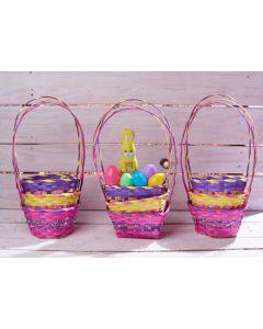 """7.5"""" Speckled Basket Assortment"""