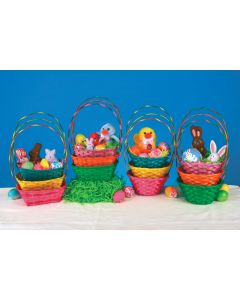 "7.5"" Bright Little  Baskets Assortment"