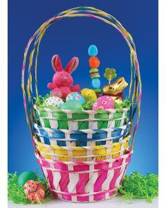 Candy Stripe Basket Assortment