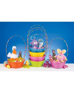 Bright Color Round Basket Assortment