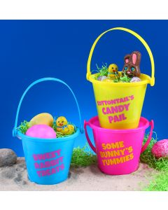"4"" Bright Bucket Assortment"