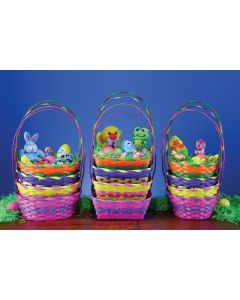 "9"" Hot Shades Basket Assortment"