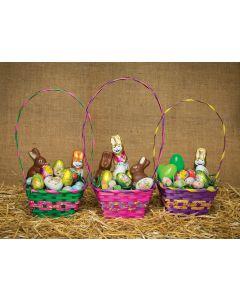 Pastel Painted Basket Assortment