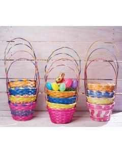 """7.5"""" Color Party Basket Assortment"""