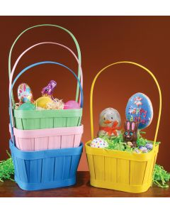Pastel Painted Basket Assortment