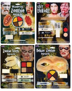 Zombie FX Makeup Kit Assortment