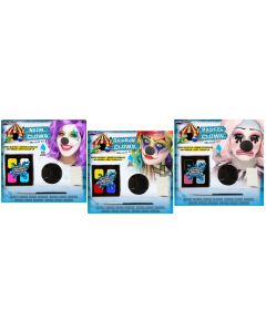 Colorful Clowns Water Activated Makeup Kit Assortment