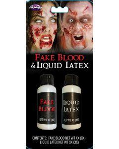 Fake Blood & Liquid Latex