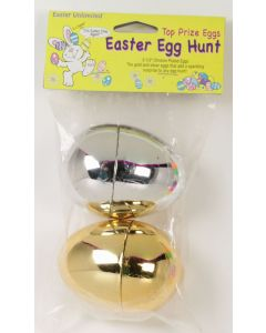 Gold & Silver Chrome Plated Eggs