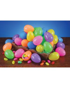 "2.5"" Fun Color Assortment Eggs"