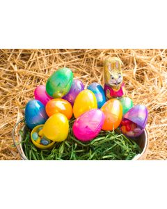 """2.25"""" Glossy Pearlescent Eggs"""