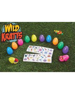 "2.5"" Wild Kratts® Eggs w/32 Stickers"