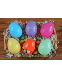 "4"" Fun & Colorful Eggs"